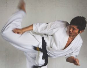 JUN WATANABE's Downward Roundhouse Kick
